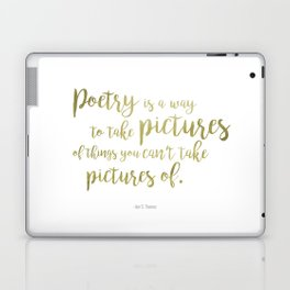 """Poetry"" Ornate Laptop & iPad Skin"