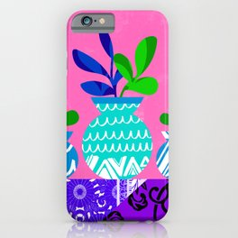 Still Life with Plants iPhone Case