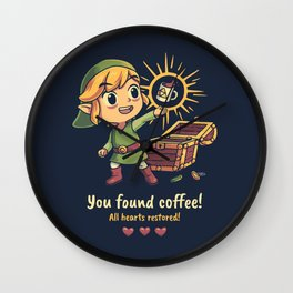 The Legendary Coffee Wall Clock