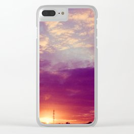 Galway Sunrise Clear iPhone Case