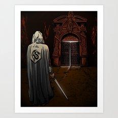 Slayer of Devils Art Print
