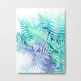 Wild Fern Jungle Metal Print