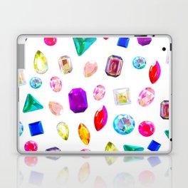 Rhinestone Reverie in White Laptop & iPad Skin