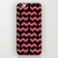 8 bit iPhone & iPod Skins featuring 8 Bit Bacon  by robyriker