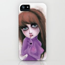 I have no reflection iPhone Case