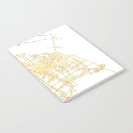 SHANGHAI CHINA CITY STREET MAP ART Notebook