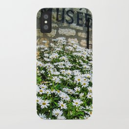 Museum & wild flowers - France iPhone Case