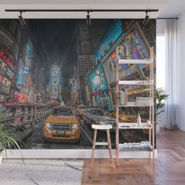 Times Square NYC Wall Mural