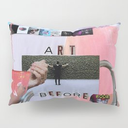 Art Before Dishes Pillow Sham
