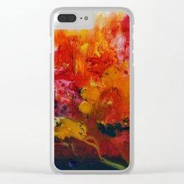 Sunrays Clear iPhone Case