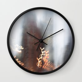 Front Flat Iron Wall Clock