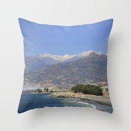 Crete, Greece 8 Throw Pillow
