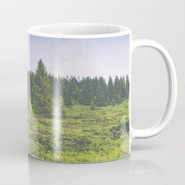 Infinite forest landscape Coffee Mug