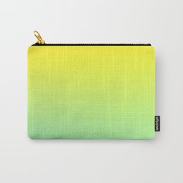 TOO HIGH - Minimal Plain Soft Mood Color Blend Prints Carry-All Pouch