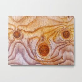 Wood fad Metal Print