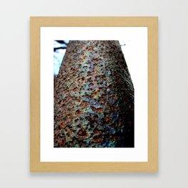 Oil Sheen Framed Art Print
