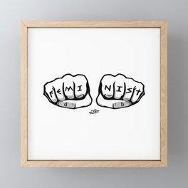 FeminIST Framed Mini Art Print