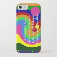 teacher iPhone & iPod Cases featuring art teacher by Maria Julia Bastias