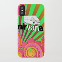 nirvana iPhone & iPod Cases featuring nirVANa by nick inglis
