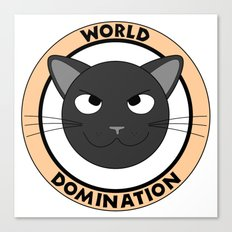World Domination II Canvas Print