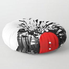 Vinyl shatter Floor Pillow