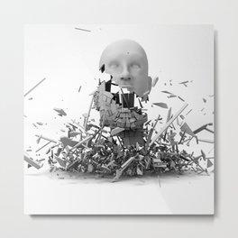 Falling Apart Metal Print