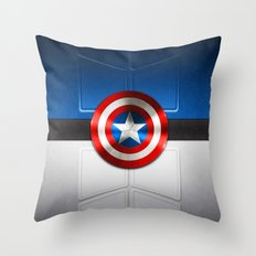 Superhero Armor Throw Pillow