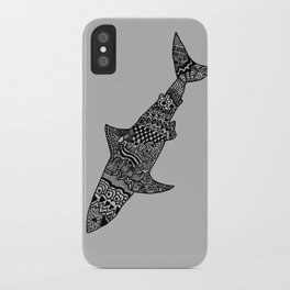Doodle Shark iPhone Case