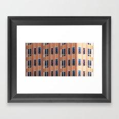 Building to Building: Church Framed Art Print