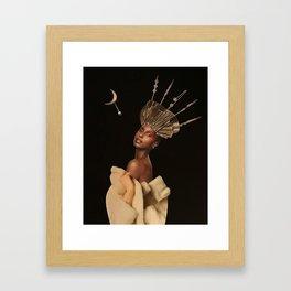 Woman fashion Framed Art Print