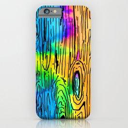 Technicolored Dream Plank iPhone Case
