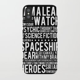 Firefly Subway Poster iPhone Case