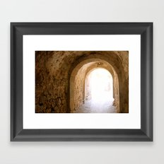 Archway Framed Art Print