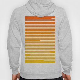 Abstract Geometric Summer With Lines Hoody