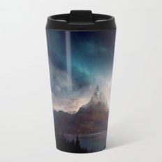 fantasy mountain Travel Mug