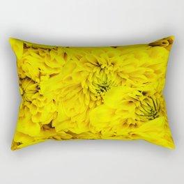 NeonYellow Bloom Rectangular Pillow