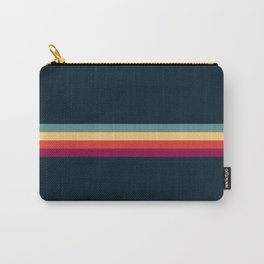 Retro Stripes Thunderbird Carry-All Pouch