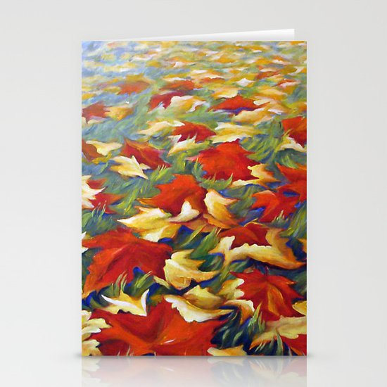Luxury of Fall Stationery Cards