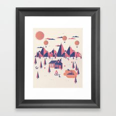 Retreat Framed Art Print