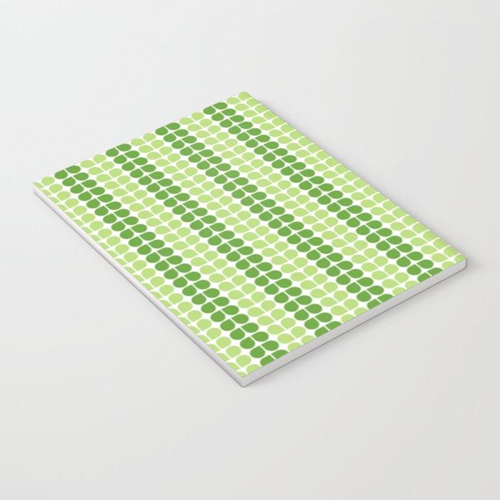 Pattern green green  Notebook