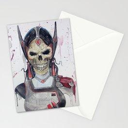 Symmetra Skull Stationery Cards
