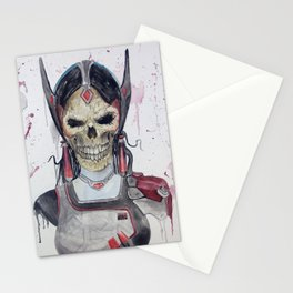 Symmetra Skull Stationery Cards