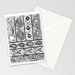 Nishikigoi BW Stationery Cards