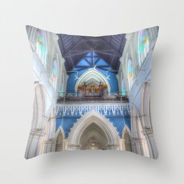 St Andrews Cathedral Singapore Throw Pillow