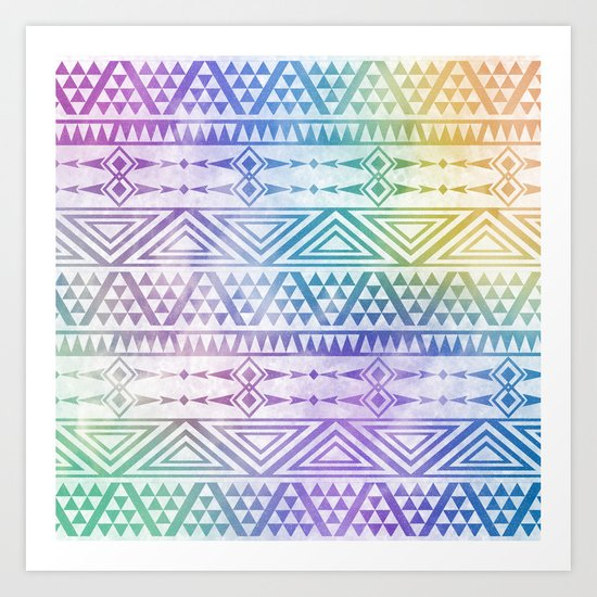 Tribal Voice Art Print