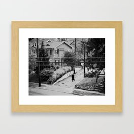 Grand Avenue View Framed Art Print