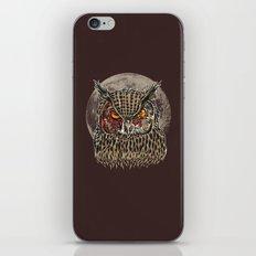 Zombie Owl iPhone & iPod Skin