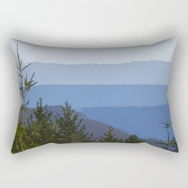 Dipsea Trail Rectangular Pillow