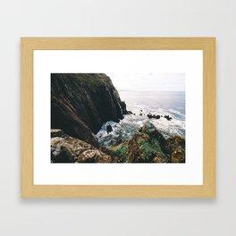 Cliffs to the Sea    Oregon Coast Framed Art Print
