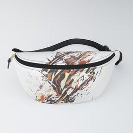 Abstract strokes 04 Fanny Pack